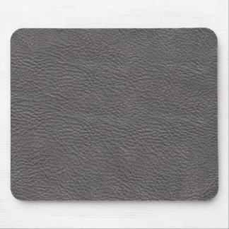 Alfombrilla De Ratón Mousepad de cuero gris de la textura