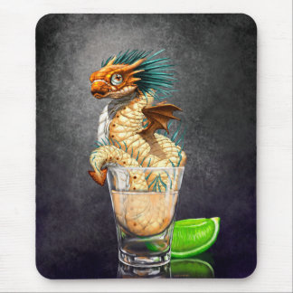 Alfombrilla De Ratón Mousepad del dragón del Tequila
