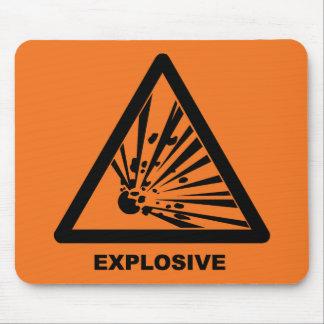 Alfombrilla De Ratón Mousepad explosivo