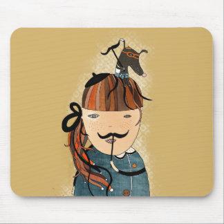 Alfombrilla De Ratón Moustache MousePad by Krize