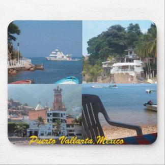 Alfombrilla De Ratón muchas escenas del mousepad de Puerto Vallarta…