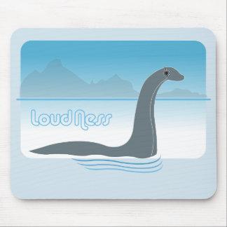 Alfombrilla De Ratón Música Mousepad del monstruo del Nessie de Loch