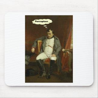 Alfombrilla De Ratón Napoleon piensa en puercos espines