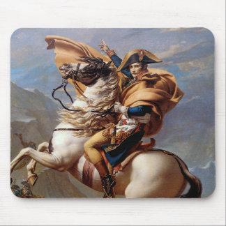Alfombrilla De Ratón Napoleon que cruza las montañas de David