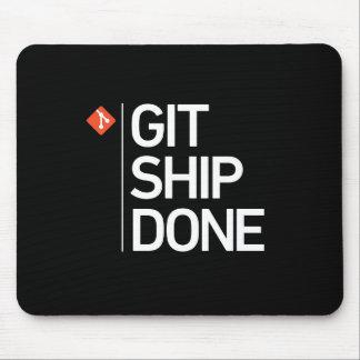 Alfombrilla De Ratón Nave de Git hecha