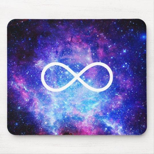 Alfombrilla De Ratón Nebulosa del símbolo del infinito
