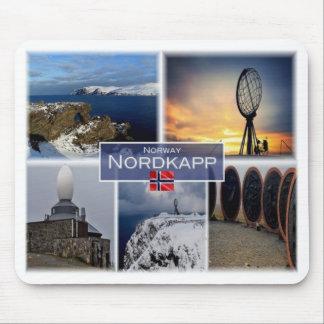 Alfombrilla De Ratón NINGUNA Noruega - cabo del norte de Nordkapp -