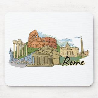 Alfombrilla De Ratón No fue construido en un día (Roma)