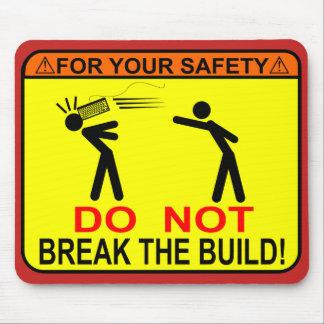 Alfombrilla De Ratón ¡No rompa la estructura!