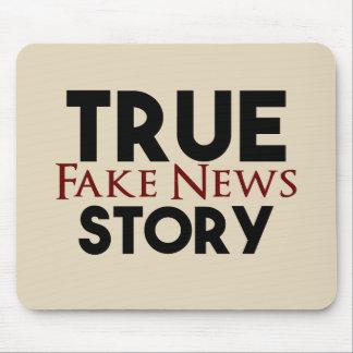 Alfombrilla De Ratón Noticias verdaderas de la falsificación de la