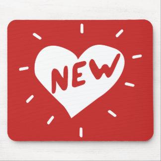 Alfombrilla De Ratón Nuevo corazón/Mousepad
