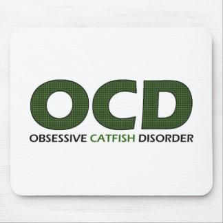 Alfombrilla De Ratón OCD - Desorden obsesivo del siluro