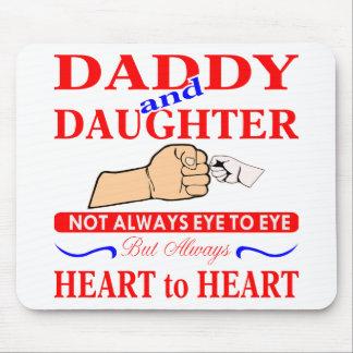 Alfombrilla De Ratón Ojo del papá y de la hija no siempre a observar