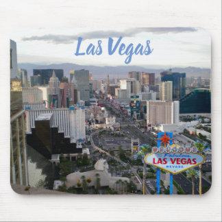 Alfombrilla De Ratón Opinión diurna de la tira de Las Vegas Boulevard