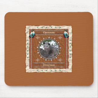 Alfombrilla De Ratón Oposum - diversión Mousepad