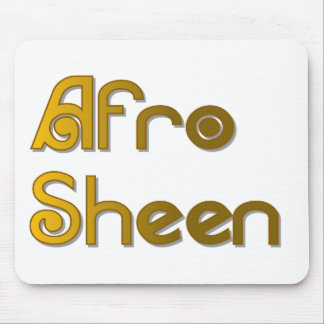 Alfombrilla De Ratón Oro de Sheen Sist- del Afro