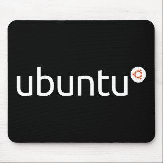 Alfombrilla De Ratón Oscuridad Mousepad de Ubuntu