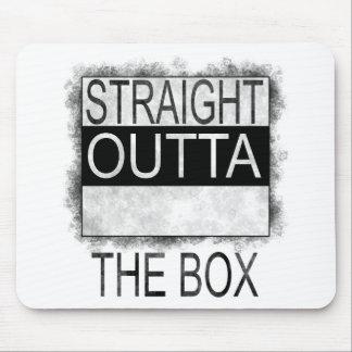Alfombrilla De Ratón Outta recto la caja