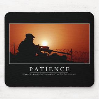Alfombrilla De Ratón Paciencia: Cita inspirada