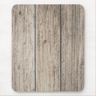 Alfombrilla De Ratón País de madera resistido rústico del granero del