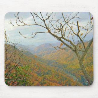 Alfombrilla De Ratón Paisaje de la montaña de Carolina del Norte