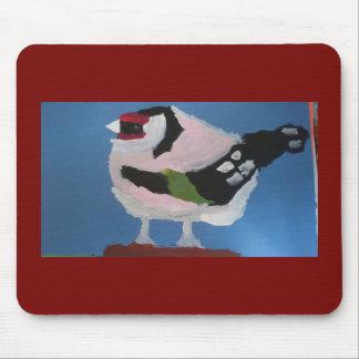 Alfombrilla De Ratón Pájaro pintado extracto del jardín del Goldfinch