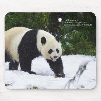 Alfombrilla De Ratón Pandas gigantes de Smithsonian el   en la nieve