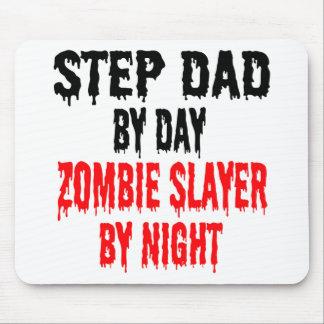 Alfombrilla De Ratón Papá del paso del asesino del zombi