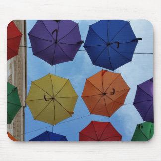 Alfombrilla De Ratón Paraguas coloridos