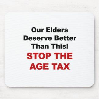 Alfombrilla De Ratón Pare el impuesto de la edad