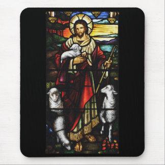 Alfombrilla De Ratón Pastor de Jesús con sus ovejas