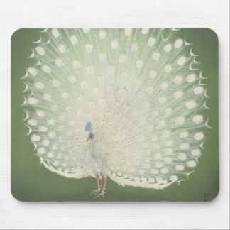 Alfombrilla De Ratón Pavo real japonés de la bella arte el | del