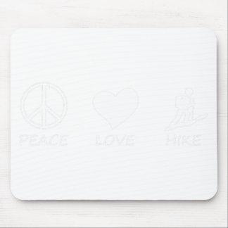 Alfombrilla De Ratón paz love34