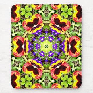Alfombrilla De Ratón Pensamientos del ~ y ~ del fractal del Lobelia