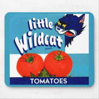 Alfombrilla De Ratón Pequeña etiqueta salvaje del cajón de los tomates