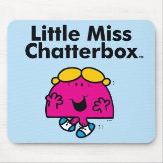 Alfombrilla De Ratón Pequeña pequeña Srta. Chatterbox de la Srta. el |