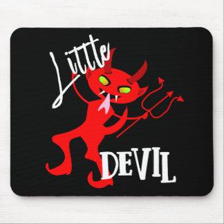 Alfombrilla De Ratón Pequeño gráfico divertido lindo del diablo rojo