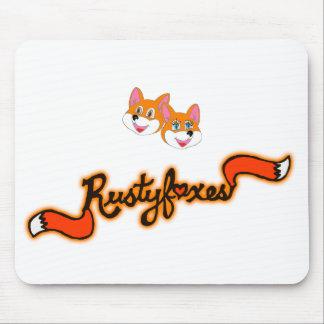 Alfombrilla De Ratón Personalizable Mousepad del color de Rustyfoxes