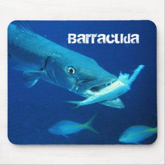 Alfombrilla De Ratón Pescados del Barracuda