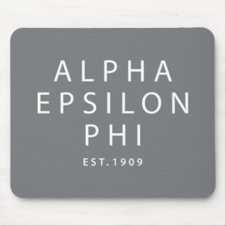 Alfombrilla De Ratón Phi épsilon alfa el | Est. 1909