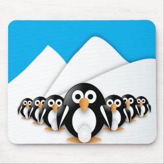 Alfombrilla De Ratón Pingüinos divertidos