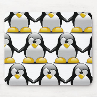 Alfombrilla De Ratón Pingüinos lindos del personalizar