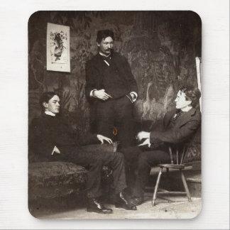 Alfombrilla De Ratón Pintores Everett Shinn Robert Henri Juan Sloan