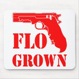 Alfombrilla De Ratón Pistola crecida Flo FB.com/USAPatriotGraphics