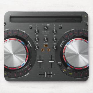 Alfombrilla De Ratón Placa giratoria Mousepad de DJ