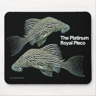 Alfombrilla De Ratón Platinum Royal Pleco