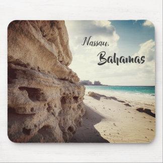 Alfombrilla De Ratón Playa tropical de Nassau, Bahamas el |