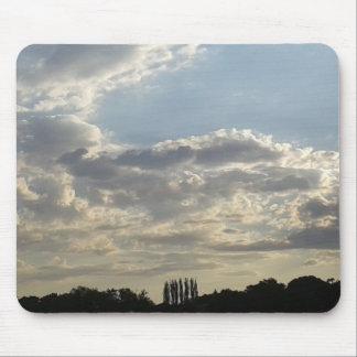 Alfombrilla De Ratón Porciones de nubes