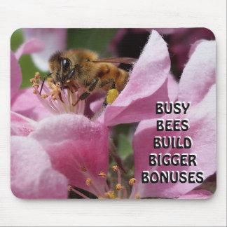 Alfombrilla De Ratón Primas más grandes de la estructura de las abejas