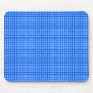 Alfombrilla De Ratón Primavera-Azul-Tela escocesa (c) __Unisex
